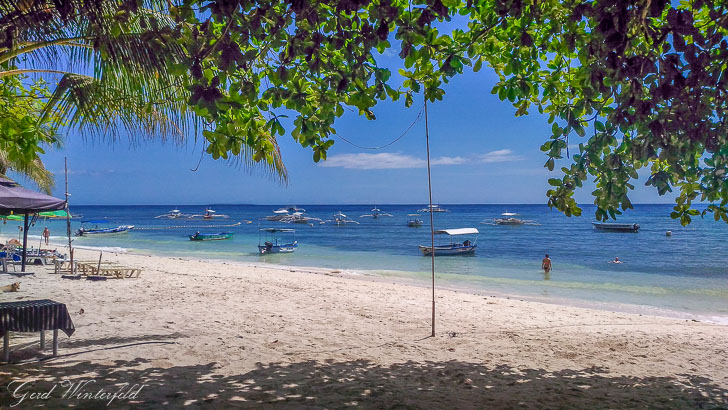 Alona Beach on Panglao Island, Bohol