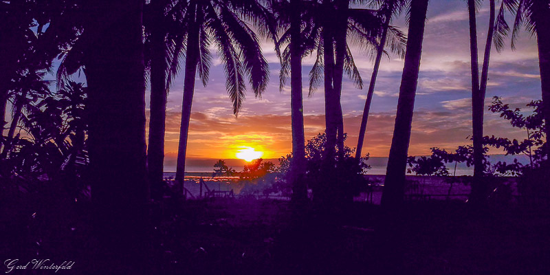 Sunset on Bohol, Philippines