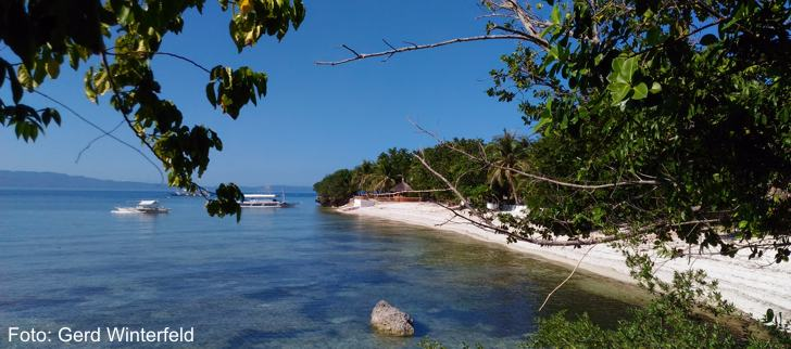 Beach on Cabilao Island, Bohol