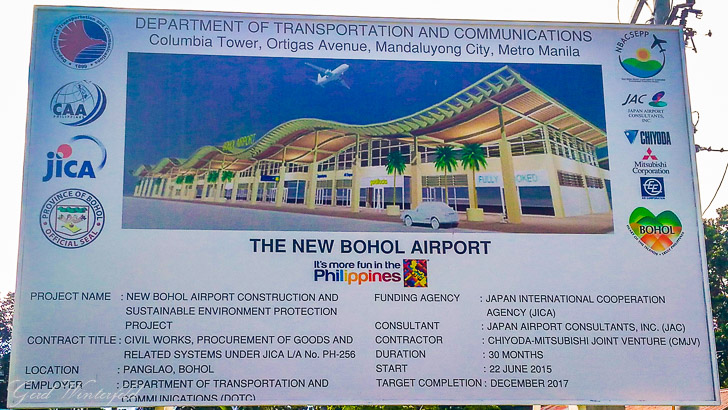 The New Bohol International Airport